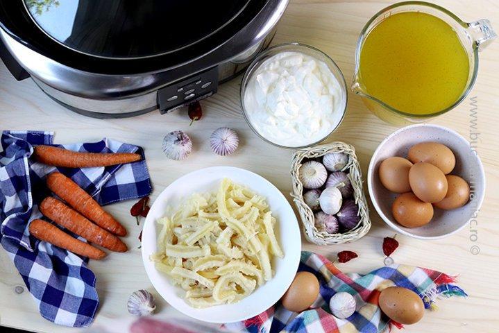 ingrediente ciorba de burta