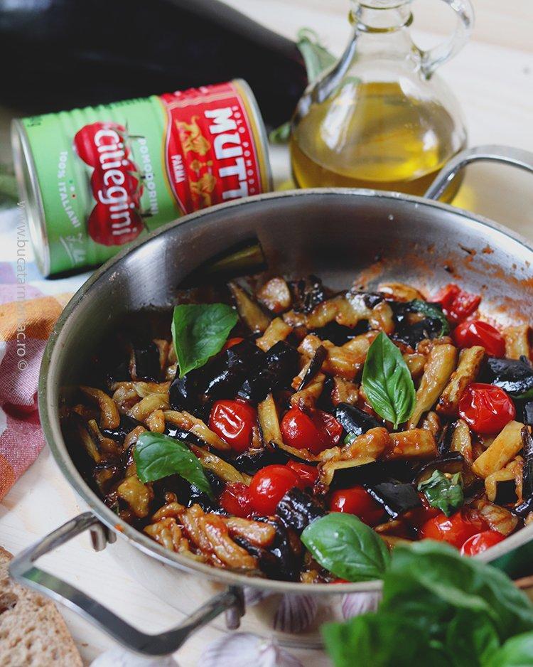 delicioasele Vinete al funghetto