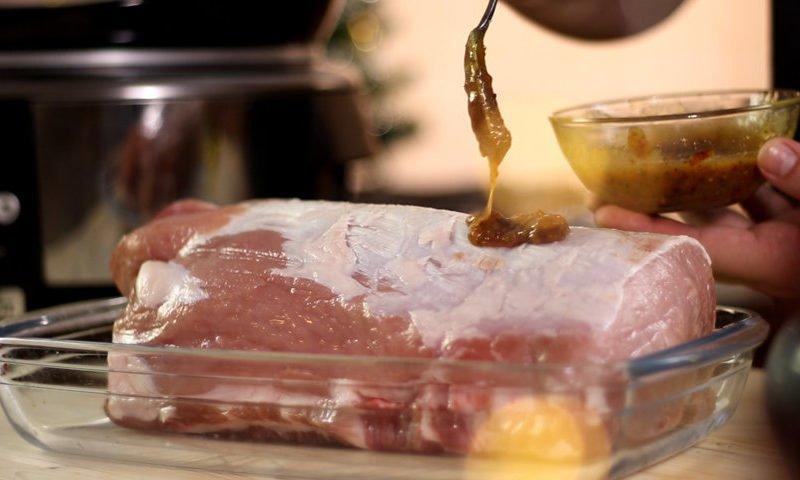 Marinadă pentru friptura de porc- rețeta video